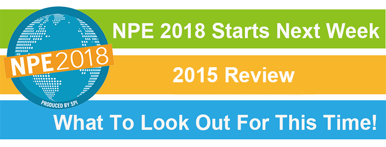 NPE 2018 Starts Next Week - 2015 Review And What To Look Out For This Time!