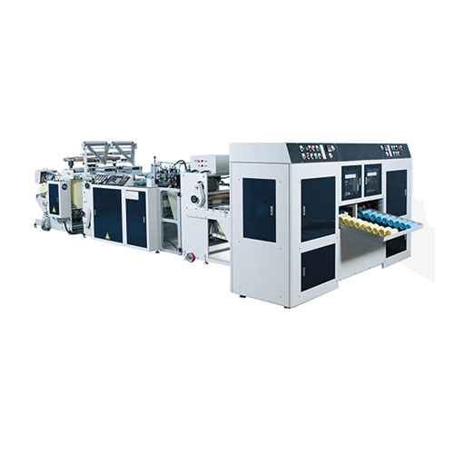 Fully Automatic High Speed 2 Lines Star-Seal Bags-On-Roll Making Machine(Coreless) / SR-40