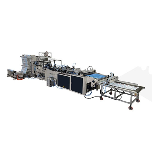 High Speed Side Sealing Bag Making Machine for LDPE, PP, OPP Film / SH-32