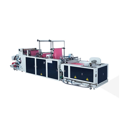 3-Folded Garbage Bag Making Machine in T-Shirt & Flat Style / SE-40F