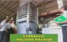 Machine de moulage hydraulique