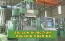 Machine solide de moulage par injection de silicium